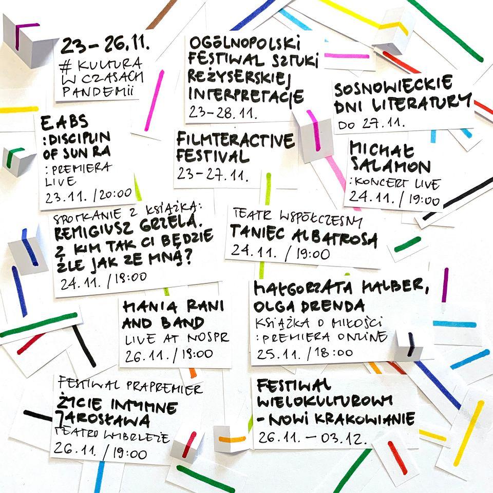 Kultura online w Trójmieście i w kraju 23-26 listopada