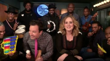 "Adele w ""The Tonight Show"" u Jimmy'ego Fallona"