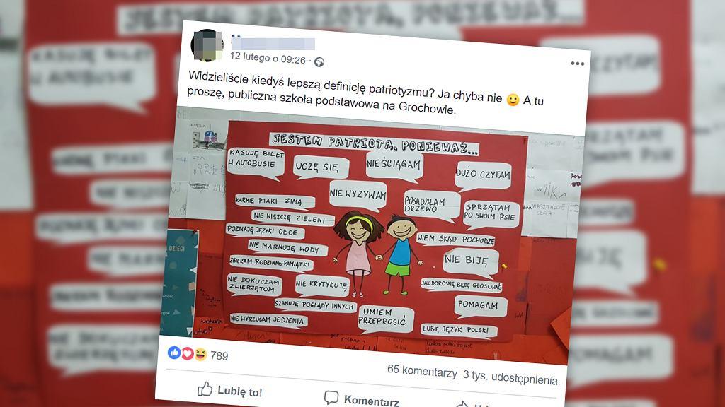 Czym jest patriotyzm dla uczniów warszawskiej podstawówki?