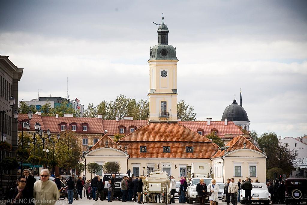 Ratusz w Białymstoku.