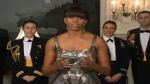 Michelle Obama, wręczenie oskarów