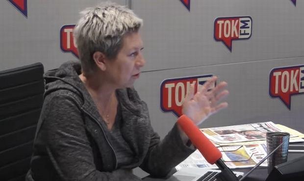 Dorota Warakomska w 'Poranku Radia TOK FM'