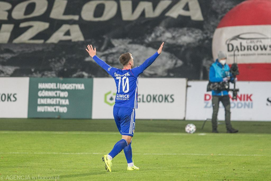 Jakub Świerczok z Piasta Gliwice
