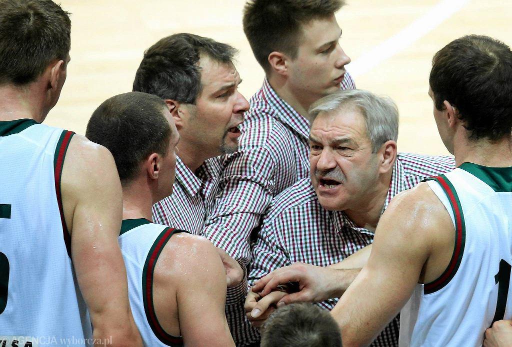 Trenerzy i koszykarze Legii