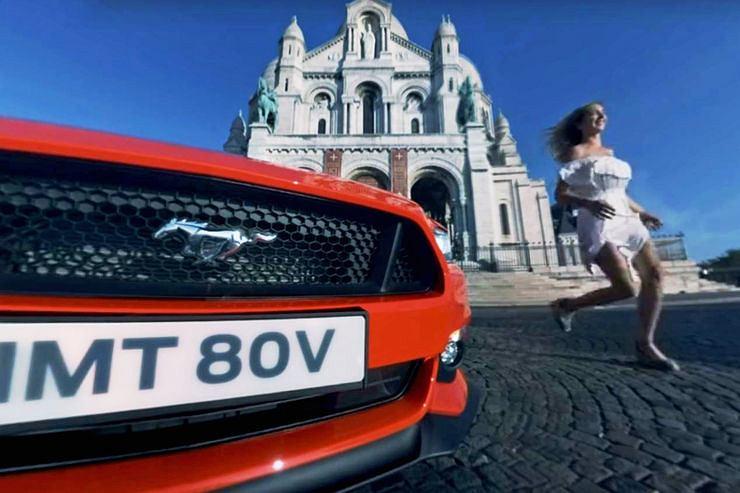 Ford Mustang   Randka w Paryżu