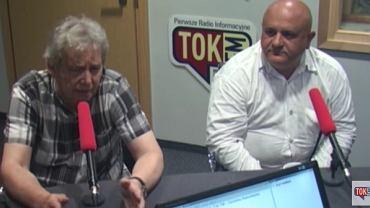"""Jarosław Guzy i Jerzy Haszczyński w """"Poranku Radia TOK FM"""""""