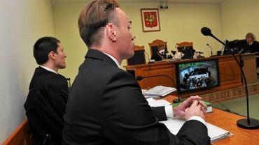 Ofiara księdza pedofila Marcin K. na sali rozpraw