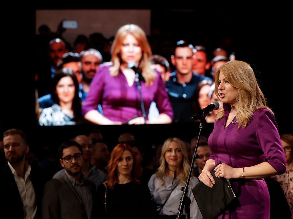 Zuzana Czaputova wygrywa wybory prezydenckie na Słowacji