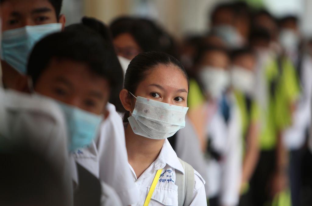 APTOPIX Asia Protective Masks