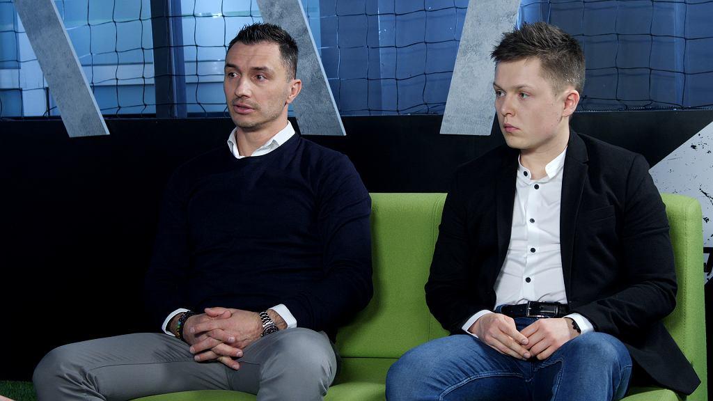 Marek Saganowski i Tomasz Ćwiąkała