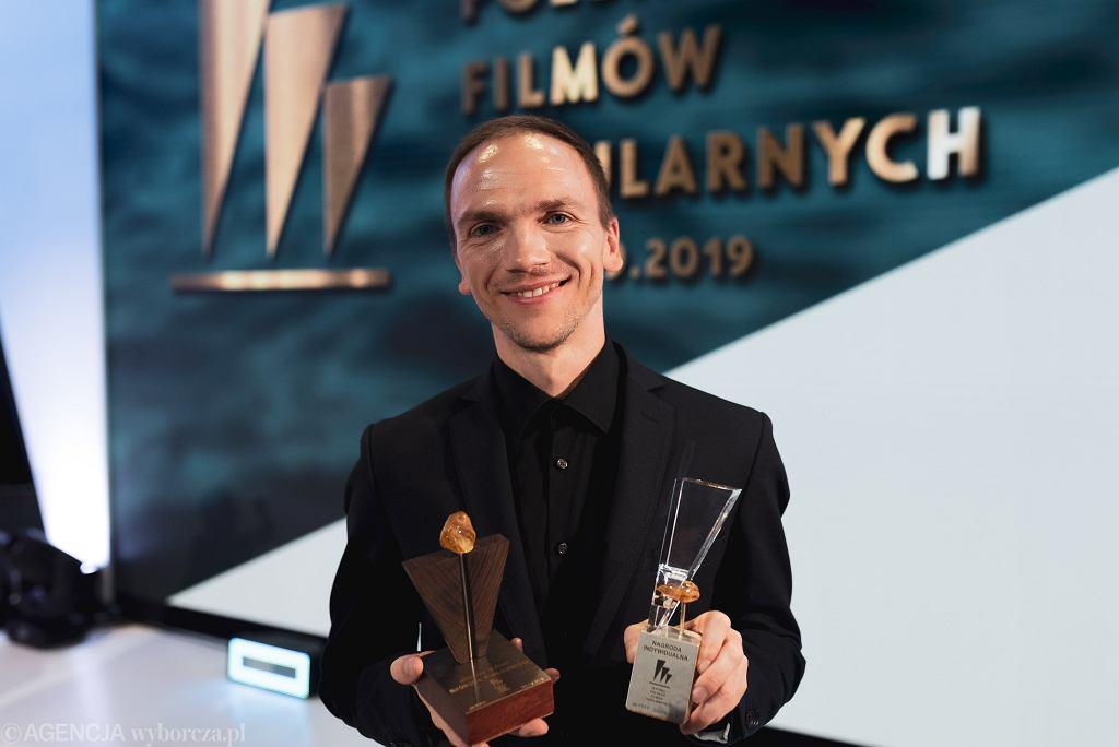 Jan Komasa na gali Festiwalu Polskich Filmów Fabularnych