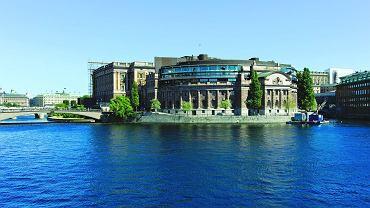 Budynek szwedzkiego parlamentu - Riksdagu