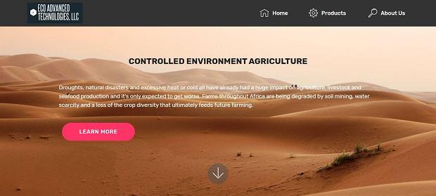 Strona Eco Advanced Technologies ukryta pod mylącym adresem