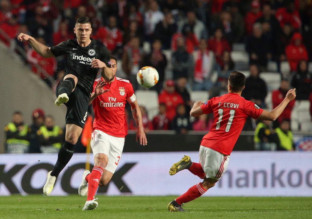 Eintracht Frankfurt wykupił Lukę Jovicia z Benfiki