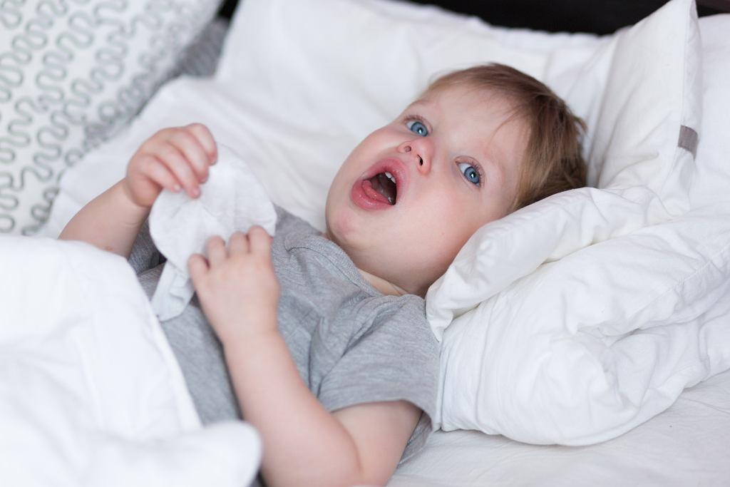 Kaszel u dziecka - co może oznaczać