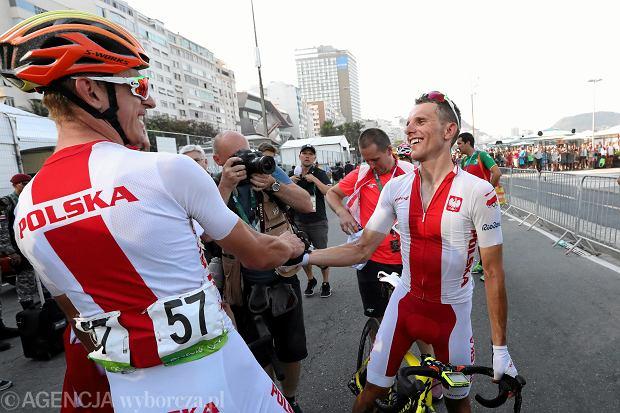 Zdjęcie numer 3 w galerii - Rio 2016. Rafał Majka był tak zmęczony, że zapomniał jak się mówi po polsku