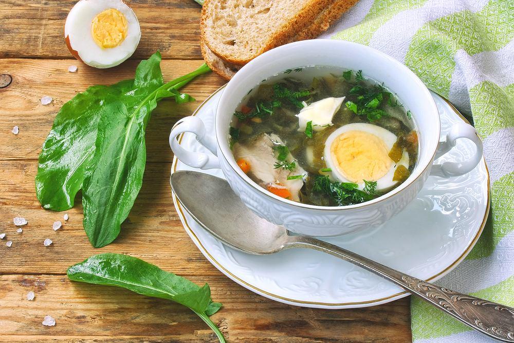 Jajko częściowo neutralizuje szkodliwe działanie szczawianów