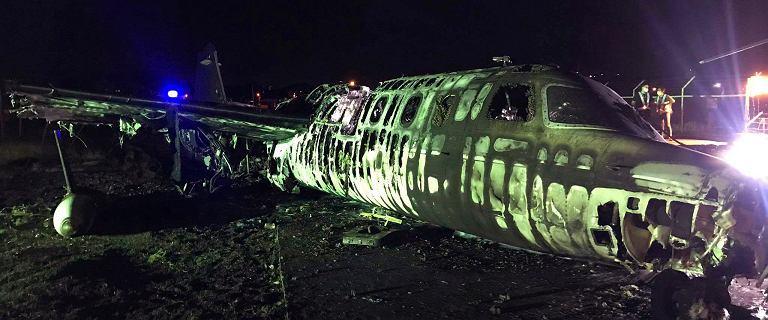 Filipiny. Samolot medyczny eksplodował podczas startu. Nikt nie przeżył