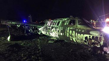 Katastrofa samolotu medycznego w Manili, Filipiny.