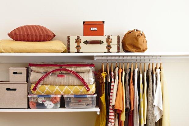 Organizacja szafy, garderoba, przechowywanie