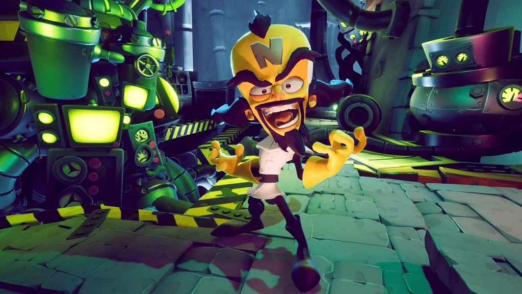 Crash Bandicoot 4: Najwyższy Czas na Switcha