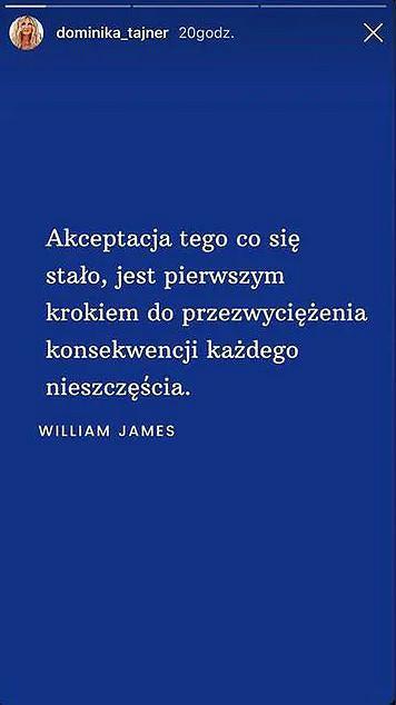 Dominika Tajner cieszy się z rozstania z Michałem Wiśniewskim
