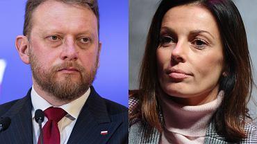 Łukasz Szumowski, Katarzyna Glinka