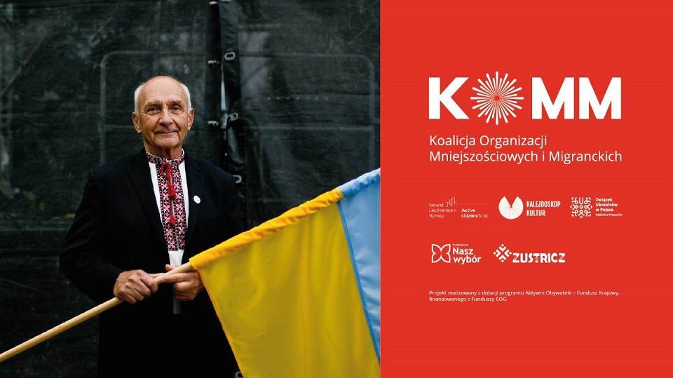 Igor Salomon, przewodniczący wrocławskiego koła Związku Ukraińców w Polsce