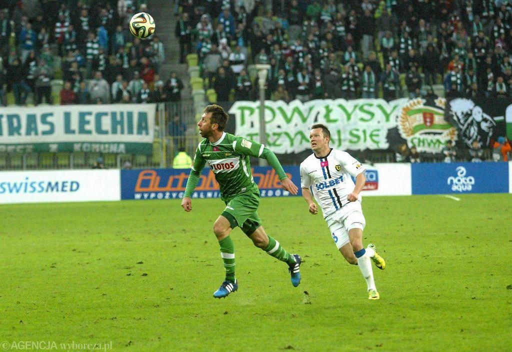 Lechia Gdańsk - Zawisza Bydgoszcz 0:0. Jakub Wawrzyniak
