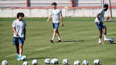 Joshua Zirkzee, Robert Lewandowski i Alphonso Davies. Bayern wraca do trenowania