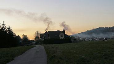Dymy z komina