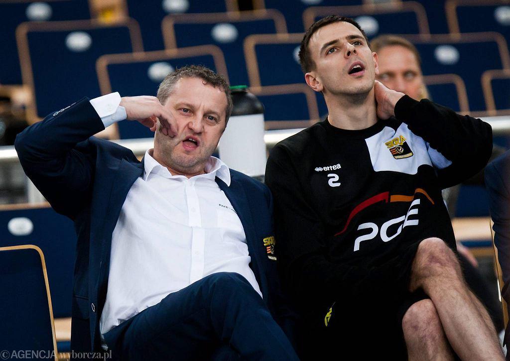 Konrad Piechocki i Mariusz Wlazły