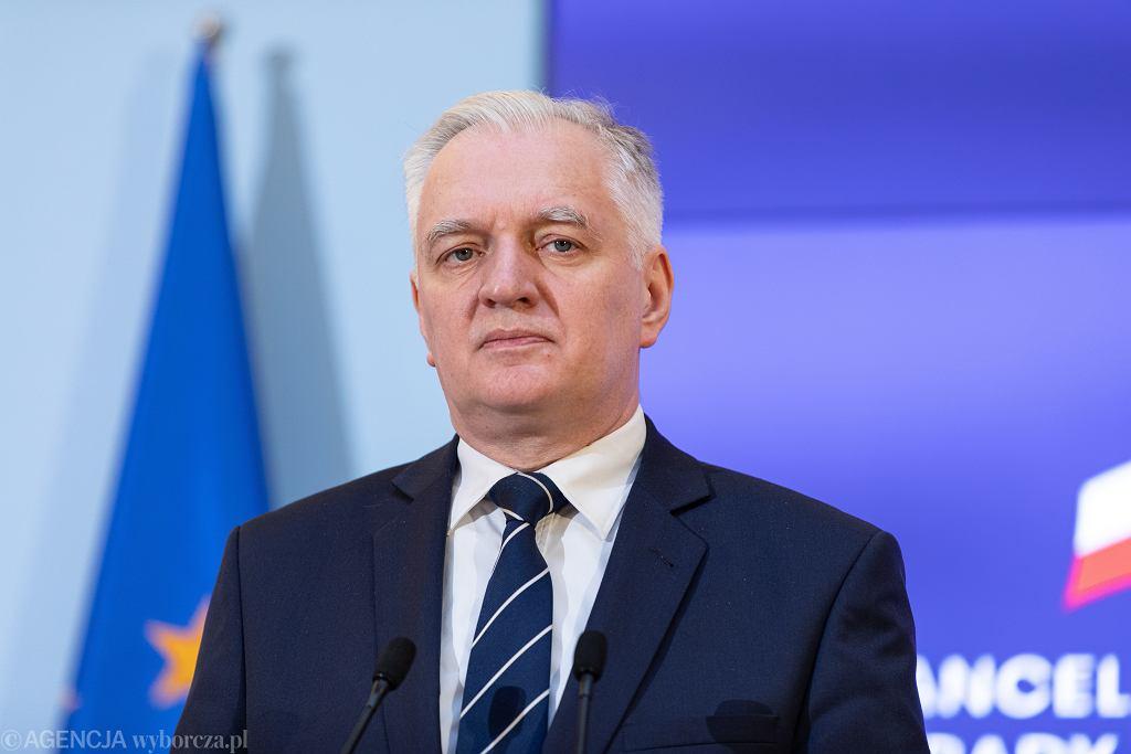 Jarosław Gowin, wicepremier, minister rozwoju, pracy i technologii