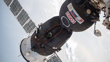 Sojuz MS-09, w którym na orbicie odkryto dziurę