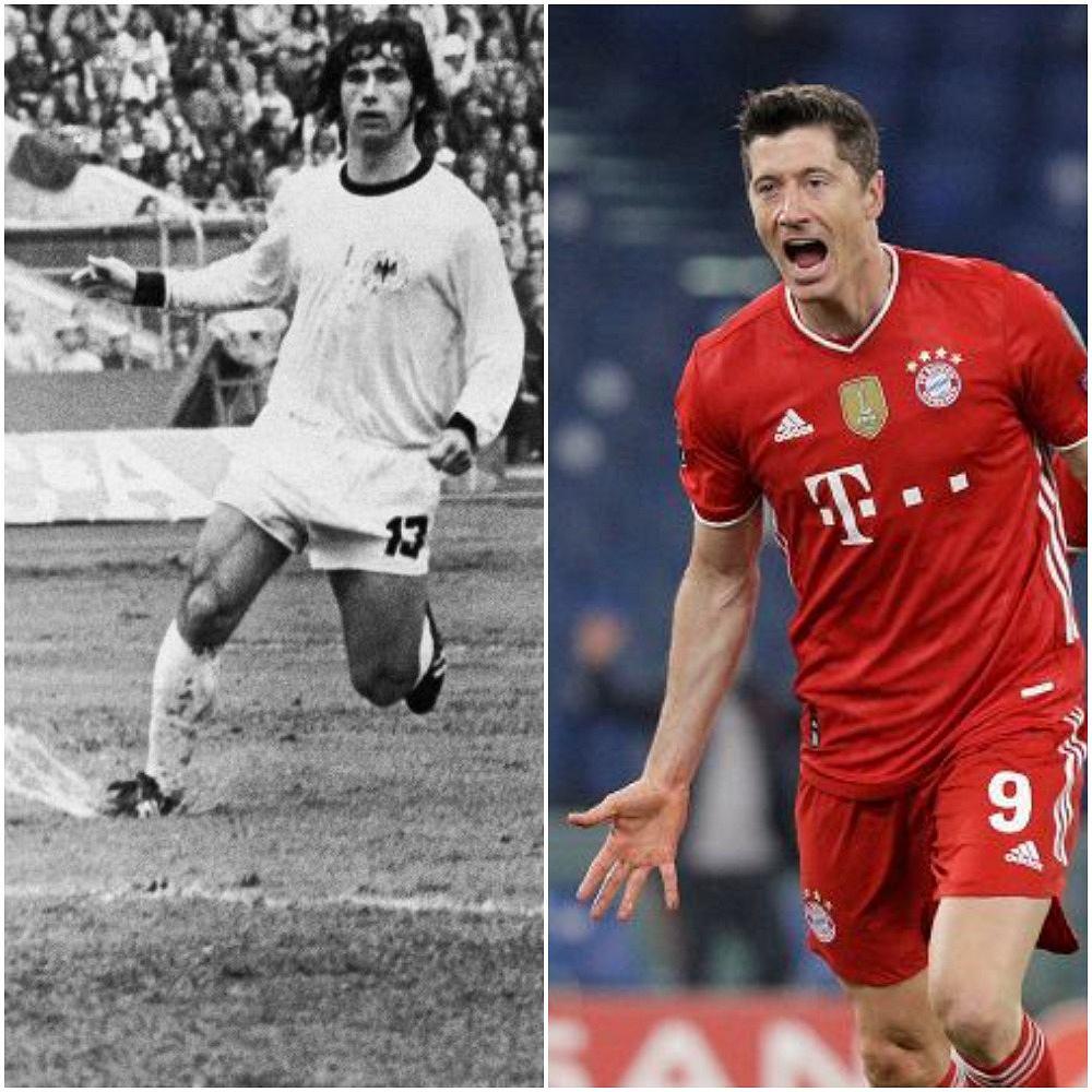 Gerd Mueller i Robert Lewandowski