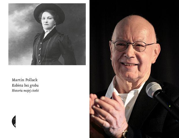Martin Pollack, autor książki 'Kobieta bez grobu' (fot. Dawid Żuchowicz / Agencja Gazeta)