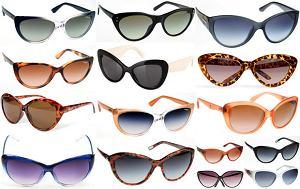 Kocie okulary przeciwsłoneczne na lato 2012