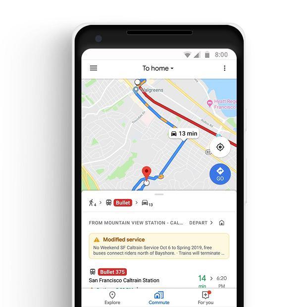 Google wprowadza paczkę nowości w Mapach