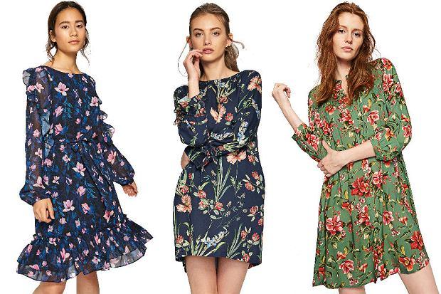 Zdjęcie numer 2 w galerii - Sukienki w kwiaty - wybieramy najpiękniejsze modele