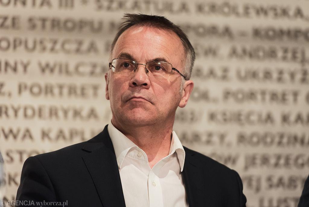 Wiceminister kultury i poseł PiS Jarosław Sellin