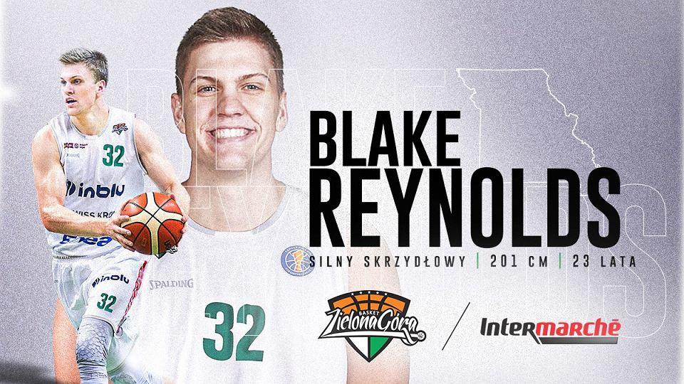 Blake Reynolds - nowy zawodnik Stelmetu Enea BC Zielona Góra