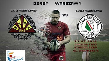 W weekend stołeczne derby w rugby - Skra zagra z Legią