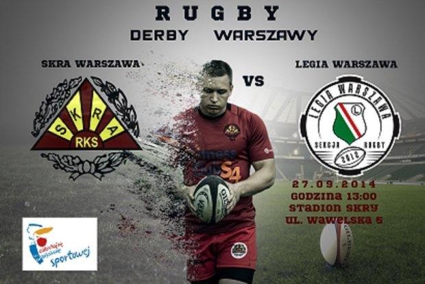 Skra - Legia. Stołeczne derby w lidze rugby