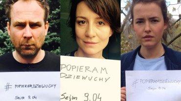 Marcin Perchuć, Maja Ostaszewska, Olga Frycz