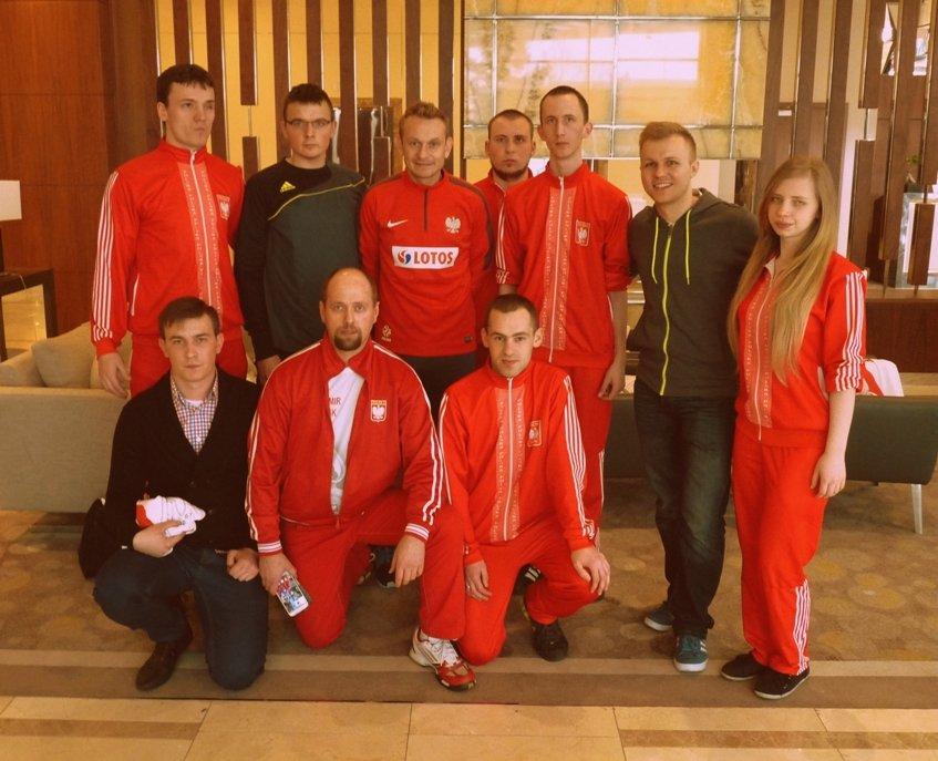 Reprezentacja Polski w Piłce Nożnej Niewidomych i jej Ambasador Sebastian Mila