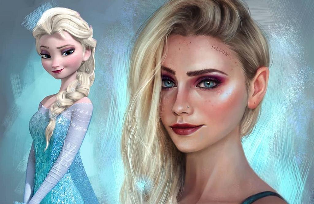 Jak Elsa wyglądałaby w rzeczywistości?