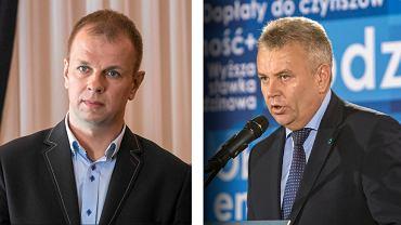 Od lewej: Wojciech Bakun, poseł Kukiz'15 i Janusz Hamryszczak z PiS