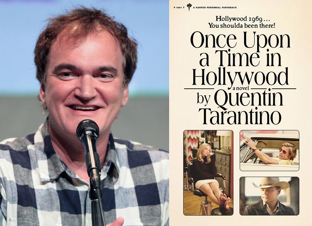 Quentin Tarantino i 'Once Upon a Time in Hollywood' - okładka książki