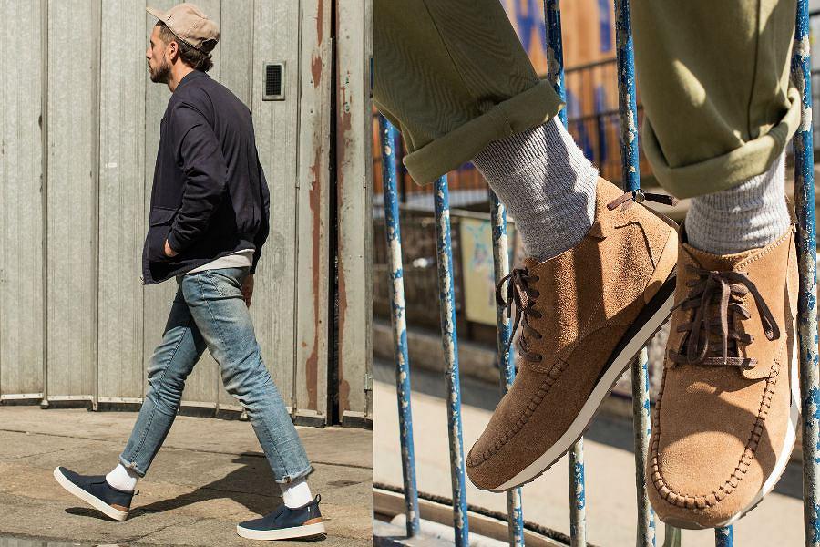 Joshua Coombes, który jest inicjatorem ruchu #DoSomethingForNothing, w butach z nowej kolekcji TOMS