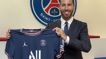 Sergio Ramos, nowy piłkarz PSG. Źródło: PSG oficjalna strona